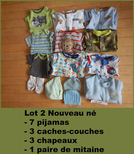 Lot 2 nouveaux nés 15$