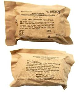 Army-Issue-First-Aid-Field-Dressing-for-wounds-Pack-of-2-Large-Size-Old-Stock