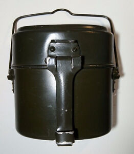 1965 German Army Bundeswehr Military Food Container
