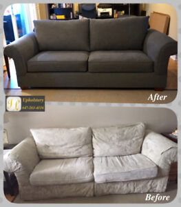 Reupholstery service