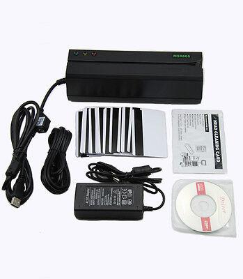 Msr605 Magnetic Stripe Swipe Magstripe Credit Card Reader Writer Encoder Msr206
