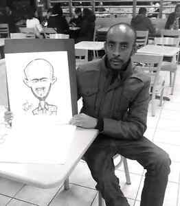 the wedding caricature  show West Island Greater Montréal image 2