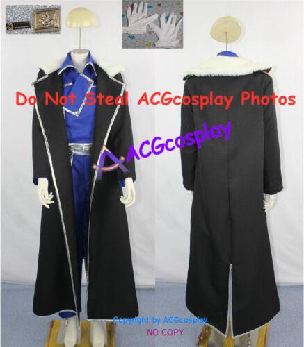 Fullmetal Alchemist Brotherhood Olivia Armstrong cosplay costume incl collar pin