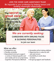 Caregivers with Smiling Faces