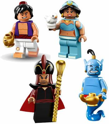 LEGO 71024 Disney Series 2 Minifigure Jasmine Jafar from Aladdin NEW Opened Foil