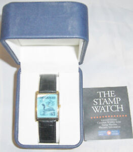 AUTHENTIC LIMITED EDITION STAMP WATCH