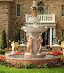 MARBLE FOUNTAINS, LIONS, STATUES, PLANTERS, GAZEBOS