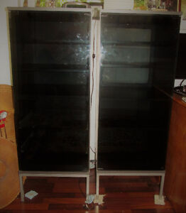 GLASS DOOR CABINETS