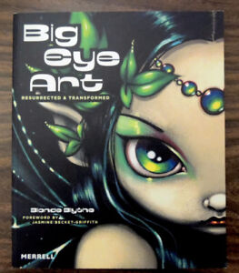 Big Eye Art Resurrected & Transformed ART BOOK NEW