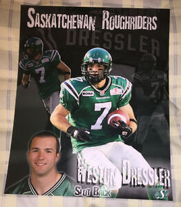 "Weston Dressler Roughriders 8'x10"" Gloss Photo"