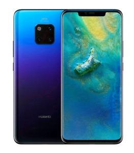 Huawei Mate 20 Pro with smart watch