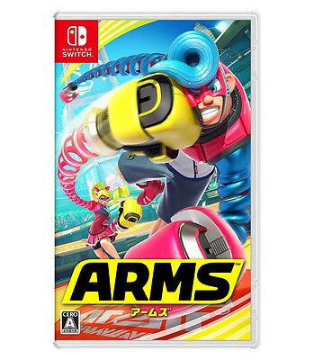 Arms  Nintendo Switch  2017  Japanese English