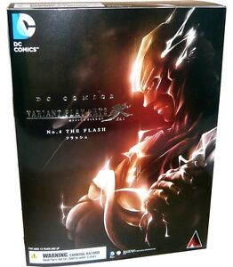Square Enix DC Comics Variant Play Arts Kai The Flash Action Figure