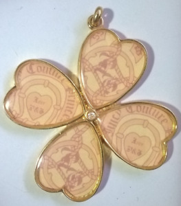 Juicy Couture  4-leaf clover Pendant