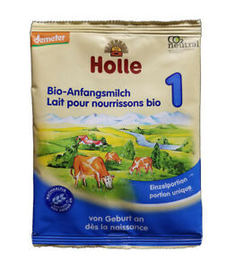 Parents: try out Holle bio organic formula milk