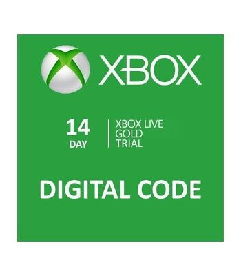 Xbox Live 14 Day Gold Trial Code (2 Weeks)