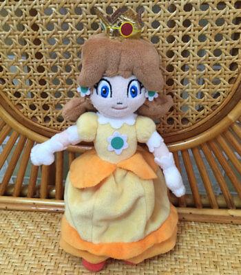 Super Mario Bros Princess Daisy (Nintendo Super Mario Bros. Princess Daisy 7 inch tall Plush Doll Toy)