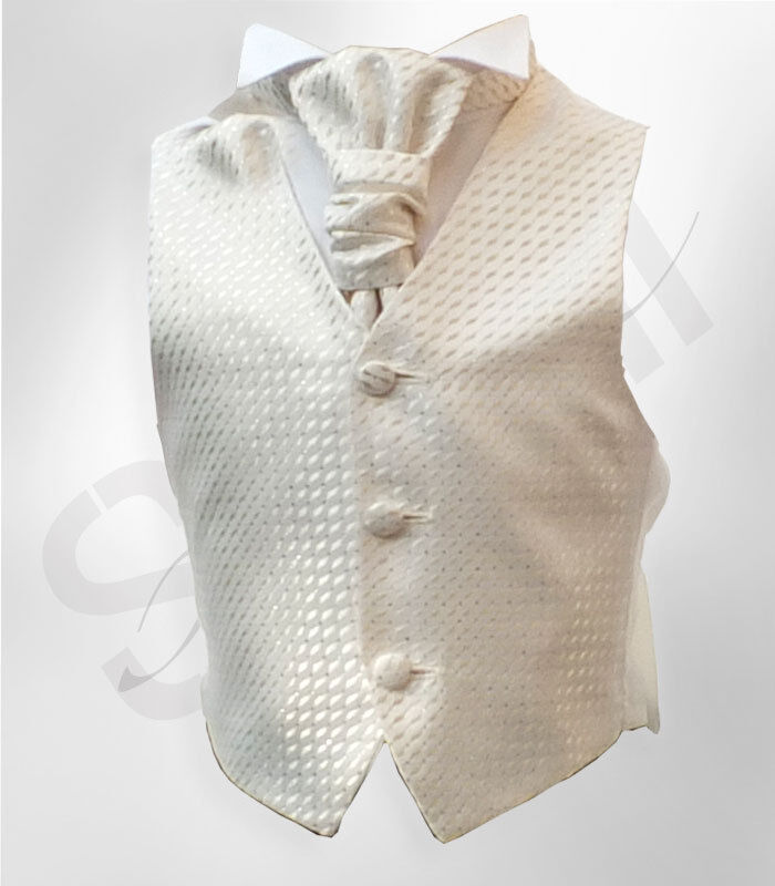 SIRRI Jungen Hemd Elfenbein beige