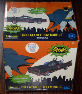 New Morbid Halloween Inflatable 1966 Batmobile - 8.5 Ft Batman
