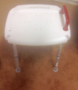 Adjustable Safety Chair for Shower or Tub