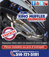 Modification Performance,Problème de bruit,Catalytic Converter