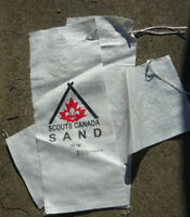 FREE - New Unfilled Poly Sandbags