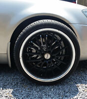 """Fast Wheels 19"""" Rims and Tires"""