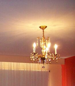 Luminaire suspendu ancien, fabriqué en Espagne