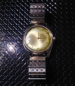 Vintage Mortimer super deluxe 17 jewel stainless watch