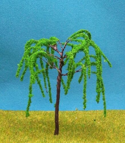 X4 Trees 10 Piece Deciduous Trees Meadow 2 3/8in New