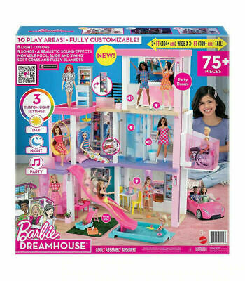 Barbie Dreamhouse Playset For Kids Christmas Birthday Gift Item A