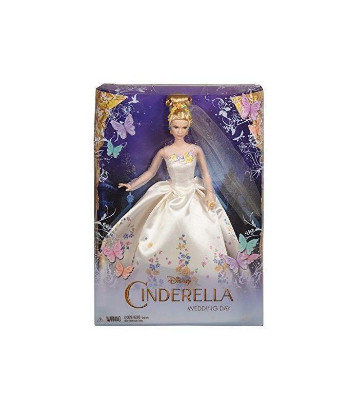 mattel disneys cenicienta vestido de novia muñeca | compra online en