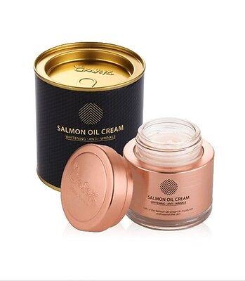 [CRE8SKIN] Salmon Oil Cream 80g (New Version) from Korea