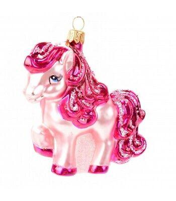 Novelty Handmade Pink Pony Christmas Ornament Bauble Tree Decoration Gift Idea ()