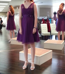 Royal Purple DRESS Bridesmaid or Special Event Dance size 6