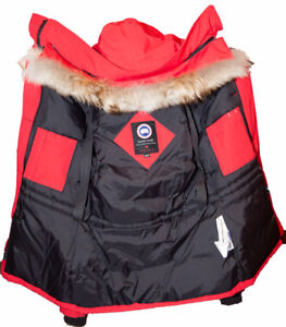 Ladies Red Canada Goose 3/4 Length 2XSmall,Immaculate