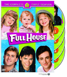 FULL HOUSE SEASON 1 DVD (4 Discs)*AD'S UP, IT'S STILL AVAILABLE