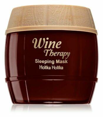 Holika Holika *RED* Wine Therapy Sleeping Mask 120ml - FREE P&P - UK STOCK-BOXED
