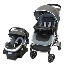 Infant car seat and stroller
