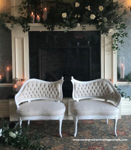 Vintage Settee / French Lounge / Wedding Furniture Rentals