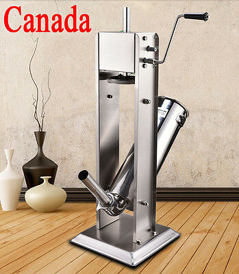 5l15lb Vertical Commercial Sausage Stuffer Stainless Steel Meat Fliierpress New