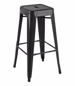 RESTAURANT INDUSTRIAL TOLIX METAL DINING CHAIR BAR STOOL Cambridge Kitchener Area image 1