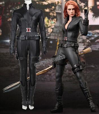 Halloween Costume Avenger Black Widow Natalia Catsuit Superhero Women Costume  - Woman Avenger Costumes