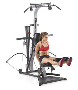 BowFleX Xceed with LatPullDown gym weights exercise