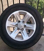 Nissan Pathfinder 6x139.7 17inch Rims & Tires