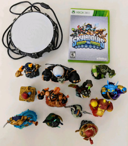 Skylanders XBOX360 12xCharacters, Game Sheet and Pad