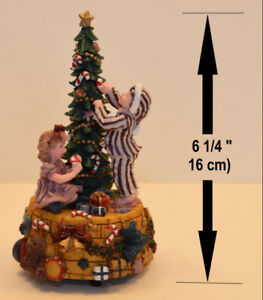 BOÎTE MUSICALE ENFANTS ARBRE NOËL / MUSIC BOX CHILDREN XMAS TREE