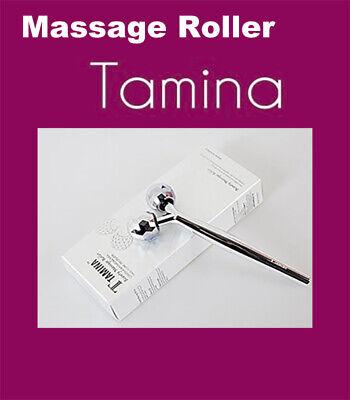 [TAMINA] Beauty Face Massage Roller, Aluminium, Stain-Less, Soft Resin