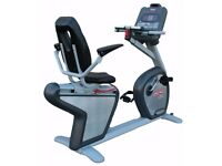 Star Trac E Series E-RB Recumbent Bike In Excellent Condition, Just Serviced