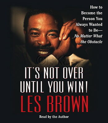 NEW 2 CD It's Not Over Until You Win Les brown
